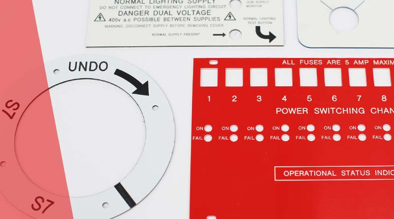 Image of traffolyte control panels and labels