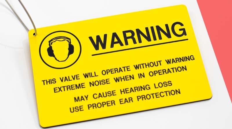 Traffolyte Warning Tag